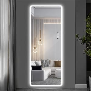 """Laiya 65"""" Smart Touch Mirror with LED Lights for $215"""