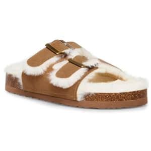Steve Madden Kids' Jnewly Slide Sandals for $10