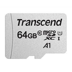 Transcend 64GB MicroSDXC/SDHC 300S Memory Card TS64GUSD300S for $11