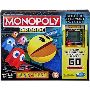 Monopoly Arcade Pac-Man Board Game for $18