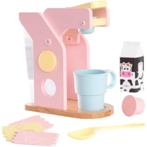 KidKraft Children's Pastel Coffee Set for $25