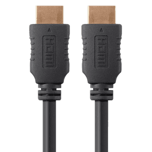 Monoprice 6-Ft. High Speed 4K HDMI Cable 5-Pack for $12