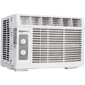 Amazon Basics Window-Mounted Air Conditioner for $124