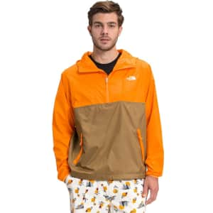 The North Face Men's Cyclone UPF 50 Anorak for $39