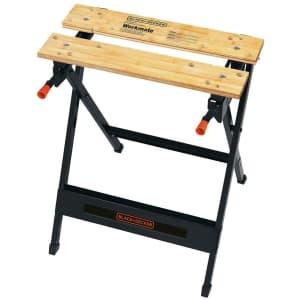Black + Decker Workmate 125 Work Bench for $27