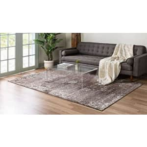 Unique Loom Sofia Traditional Area Rug, 2' 2 x 3' 0, Brown for $16