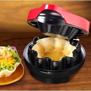 Taco Tuesday Baked Tortilla Bowl Maker for $25