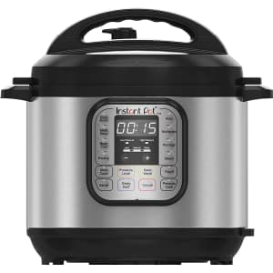 Instant Pot Duo 6-Quart 7-in-1 Electric Pressure Cooker for $89