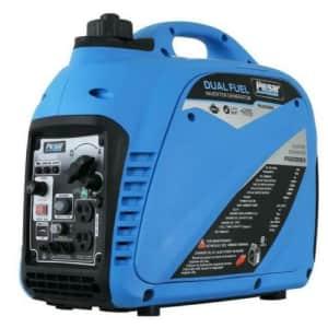 Pulsar 2,200W Portable Fuel Gas Propane Inverter Generator for $489