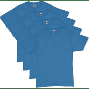 Hanes Men's Essentials Short Sleeve T-Shirt 4-Pack from $10