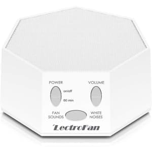Adaptive Sound Technologies LectroFan White Noise Sound Machine for $45