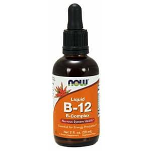 Now Foods - Liquid B-12 (B Complex) 2 fl oz for $15