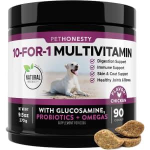 PetHonesty 10-in-1 Dog Multivitamin for $20