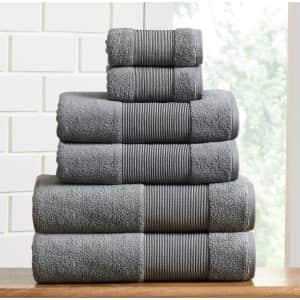 Modern Threads Air Cloud 6-Pc. Towel Set for $26