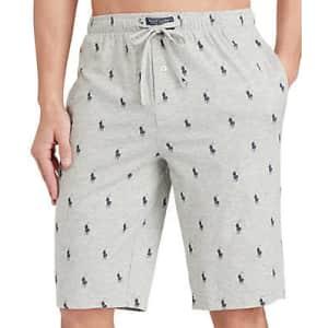 Polo Ralph Lauren Men's Cotton Logo Pajama Shorts for $19