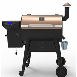 Z GRILLS ZPG-7002F 8 in 1 Wood Pellet Portable Grill Smoker for Outdoor BBQ Cooking with Digital for $530
