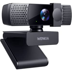 Wenkia 1080p Webcam w/ Dual Stereo Mics for $10