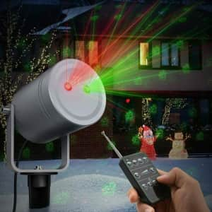 TaoTronics Holiday Laser Light Projector with Remote Control for $17