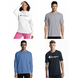 Hanes & Champion at eBay: Extra 20% off $15 in cart