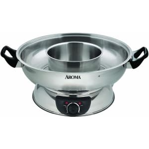 Aroma 4-qt. Stainless Steel Shabu Hot Pot for $67