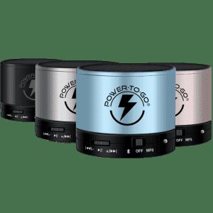 Power-to-Go Thunderboom Portable Bluetooth Speaker for $10