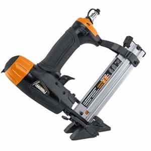 "Freeman PFBC940 Pneumatic 4-in-1 18-Gauge 1-5/8"" Mini Flooring Nailer and Stapler Ergonomic and for $60"