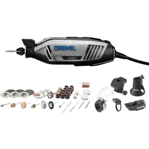Dremel 4300 Rotary Tool Kit with Accessories for $105