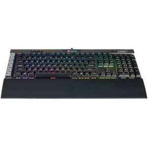 Corsair K95 RGB Platinum Mechanical Gaming Keyboard for $100