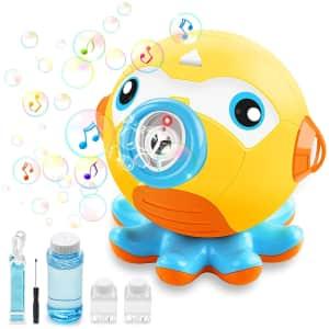 Outerman Octopus Auto Bubble Maker for $10