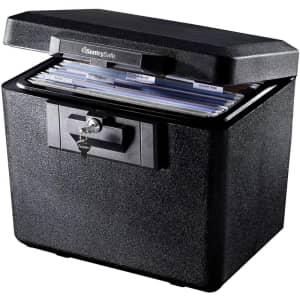 Sentry Safe Fireproof File Safe for $40