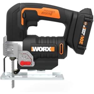Worx 20V Powershare Cordless Jigsaw w/ Dual Switch & Handle for $86