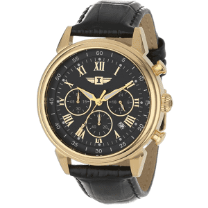 Invicta Men's 18k Gold-Plated Stainless Steel Watch for $72