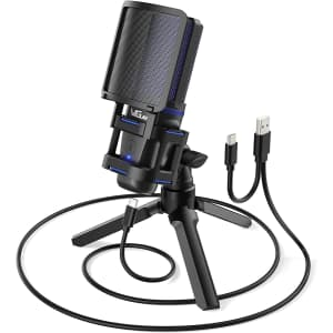 Vegue USB Computer Condenser Microphone for $15