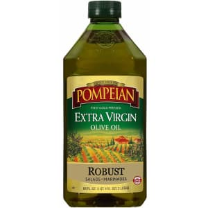 Pompeian 68-oz. Robust Extra Virgin Olive Oil Bottle for $11 via Sub & Save
