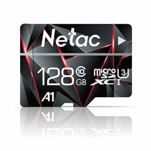 16GB Micro SD Card, Netac Memory Card MicroSD High Speed Transfer A1 C10 U1 MicroSDHC TF Card for for $9