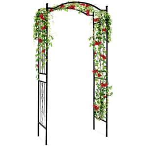 Best Choice Products Steel Garden Trellis Arbor for $70