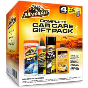 Armor All Complete Car Care Gift Pack for $13