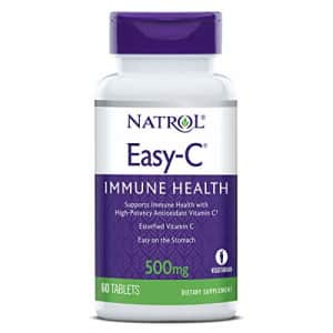 Natrol Easy-c Immune Health, High-Potency Antioxidant Vitamin C, 500 Mg Tablets, 60 Count for $13