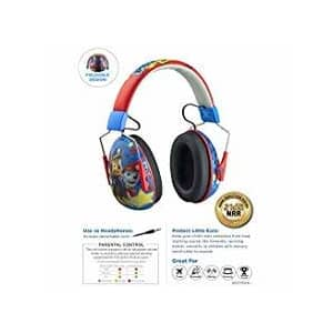 eKids Paw Patrol Kids Ear Protectors Earmuffs Toddler Ear Protection and Headphones 2 in 1 Noise for $40