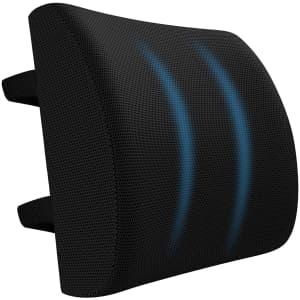 QEWA Lumbar Support Pillow for $9