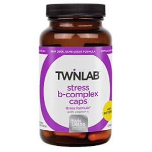 TwinLab Stress B Complex with Vitamin C 100 Caps for $24