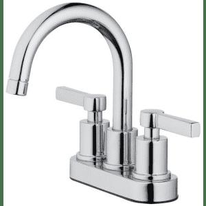 OakBrook Verona 2-Handle Pop-Up Chrome Faucet for $30