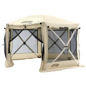 Clam 12.5 x 12.5-Foot Portable Canopy Shelter for $320