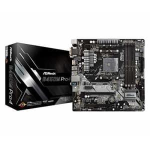ASRock B450M PRO4 AM4 Micro ATX AMD Motherboard for $70