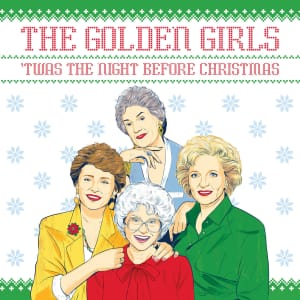 The Golden Girls: 'Twas the Night Before Christmas Hardcover Book for $6