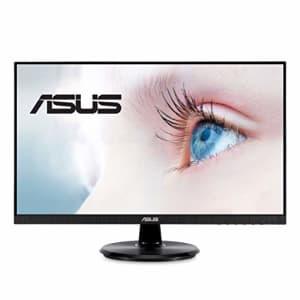 ASUS VA24DQ 23.8 Monitor, 1080P Full HD, 75Hz, IPS, Adaptive-Sync/FreeSync, Eye Care, HDMI for $200