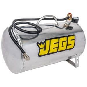 "JEGS 81001 5 gal. Horizontal Portable Aluminum Air Tank, 19"" L x 9"" Dia. for $79"