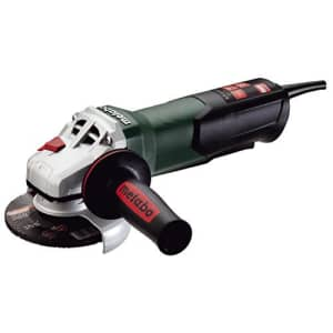 """Metabo- 4.5"""" Angle Grinder - 10, 500 Rpm - 8.5 Amp W/Non-Lock Paddle (600380420 9-115 Quick), for $179"""