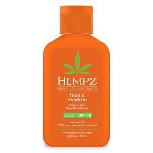 Hempz Yuzu & Starfruit Daily Herbal Lotion for $3.49 via Sub & Save