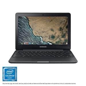 "Samsung Electronics XE500C13 Chromebook 3 2GB RAM 16GB SSD Laptop, 11.6"" for $100"